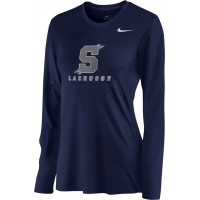 Southridge Washington LAX 06: Nike Women's Legend Long-Sleeve Training Top - Navy