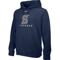 Southridge Washington LAX 09: Adult-Size - Nike Team Club Fleece Training Hoodie (Unisex) - Navy