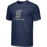 Southridge Washington LAX 07: Adult-Size - Nike Combed Cotton Core Crew T-Shirt - Navy