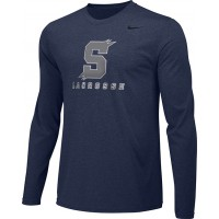 Southridge Washington LAX 04: Adult-Size - Nike Team Legend Long-Sleeve Crew T-Shirt - Navy